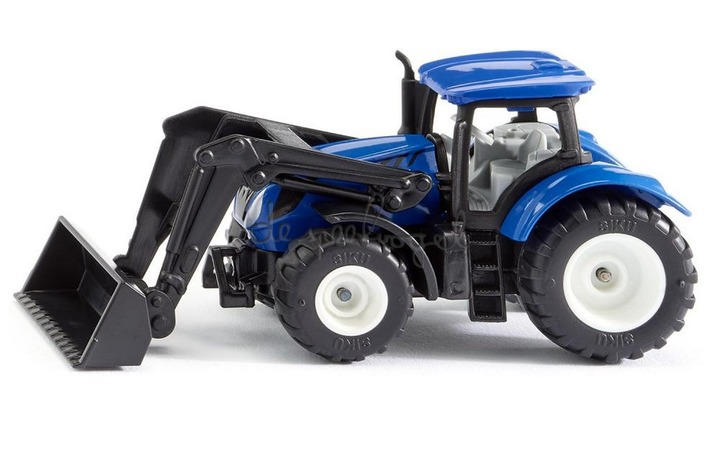 1396 Tractor New Holland met frontale lader