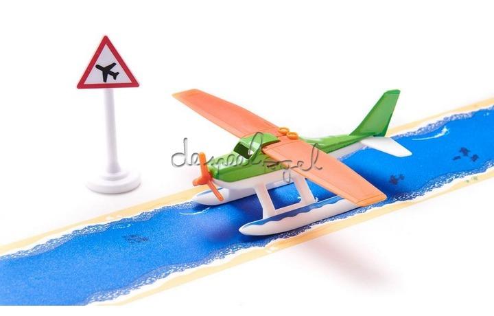 1602 Watervliegtuig met tape