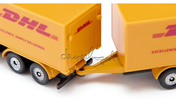 1694 Vrachtwagen met aanhangwagen DHL