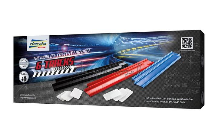 Darda 50440 6 rails 35cm & 6 connectoren
