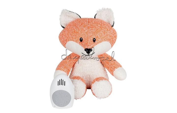 1355027 Hartslag comforter - Robin the fox - oranje