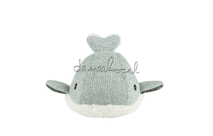 1365027 Hartslag comforter - Moby the Whale - groen